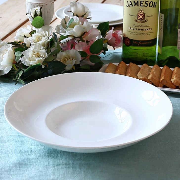 Fine Bone China Risotto Plate Set